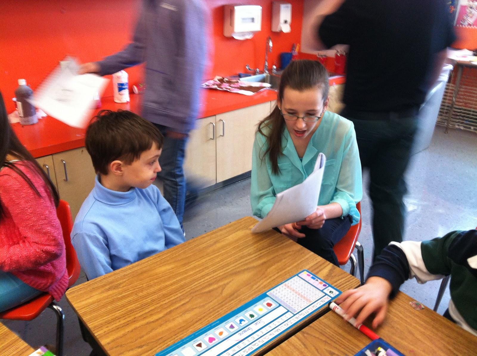 Mrs Hannah S First Grade Class Mrs Plank S 6th Grade English Class