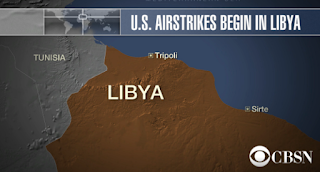 ​U.S. Launches Airstrikes Targeting ISIS In Libya