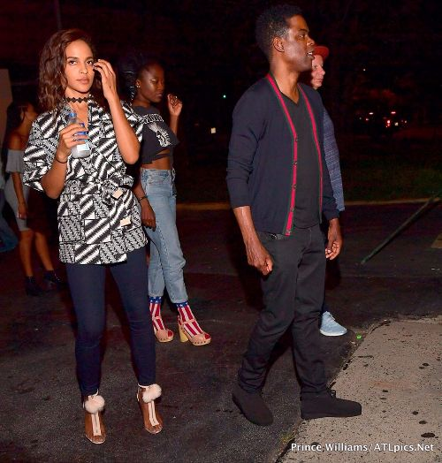 Chris Rock spotted kissing his girlfriend at the club (photos)