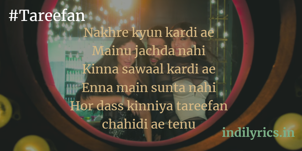 Tareefan - Veere Di Wedding, ft Badshah | QARAN, full song