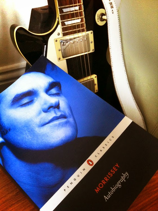 Abbey's Bookseller Pick ~ Autobiography by Morrissey