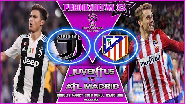 Prediksi Juventus vs Atl Madrid 13 Maret 2019