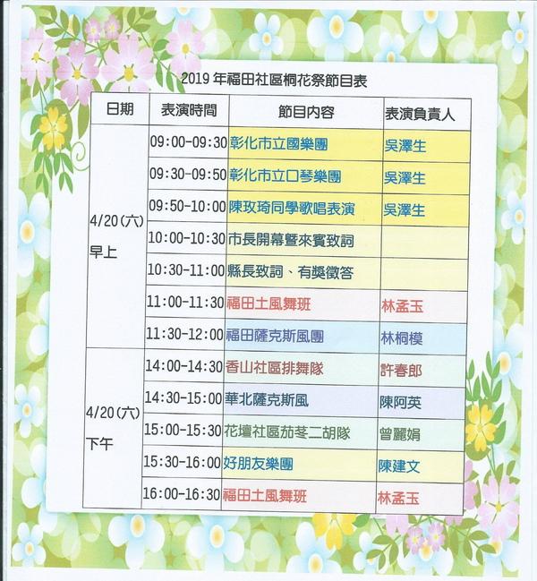 彰化市|福田賞桐生態園區|2019客家桐花祭4/20-4/28|賞桐平台|木棧道|桐花毯步道