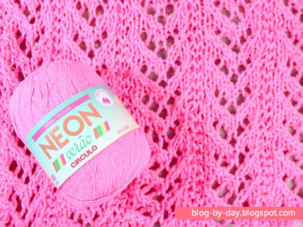 Blusa Neon em Andamento
