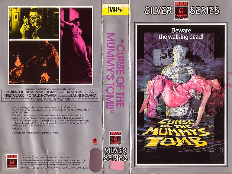 The Curse Of King Tuts Tomb Torrent: Australian VHS Covers: RCA Collection