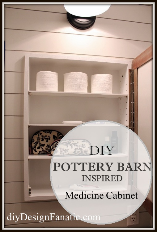 custom medicine cabinet, Mountain cottage, mountain cottage upstairs bathroom, wood project, Building project, diyDesignFanatic.com