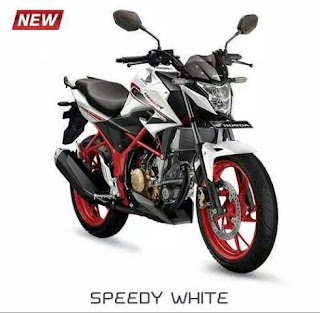 Honda All New CB150R Special Edition Speedy White
