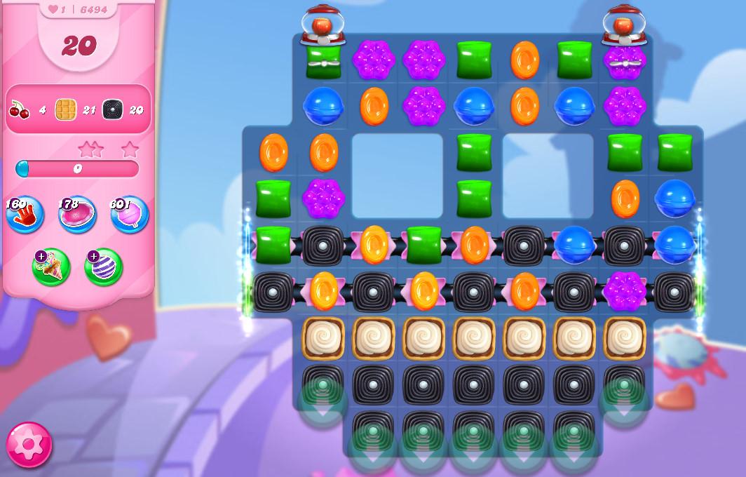 Candy Crush Saga level 6494