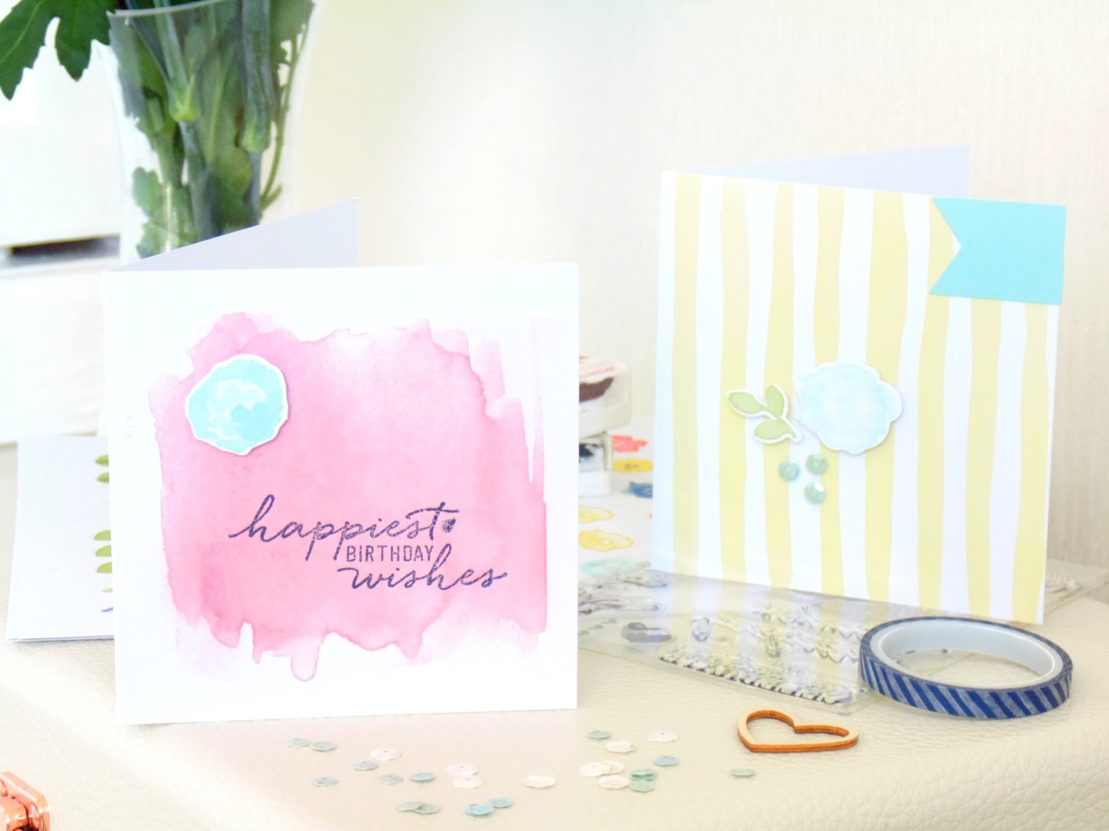 Stampin Up Watercolor Wishes Card Making Kit Of Beauty And – Easter Card Making Kits