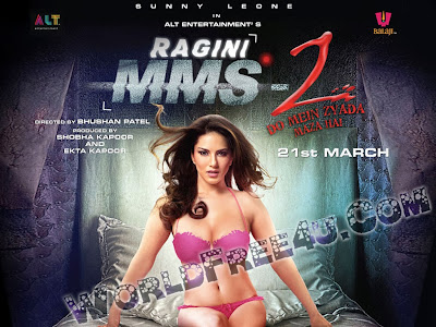 Poster Of Bollywood Movie Ragini MMS 2 (2014) 300MB Compressed Small Size Pc Movie Free Download worldfree4u.com