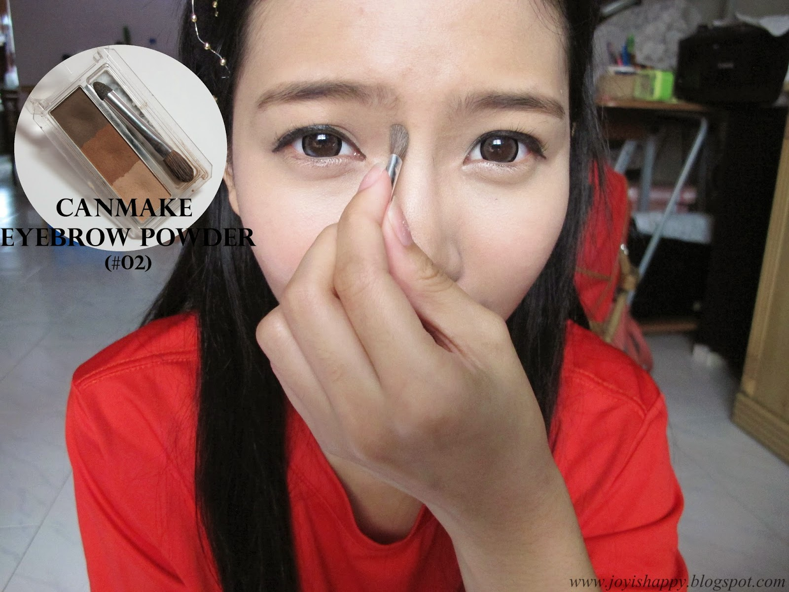 canmake eyebrow powder #02