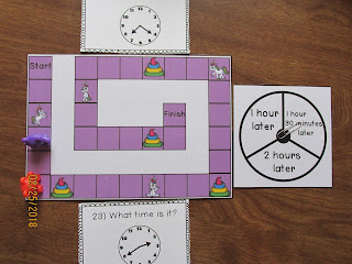 Telling Time the 5 Minutes Task Cards