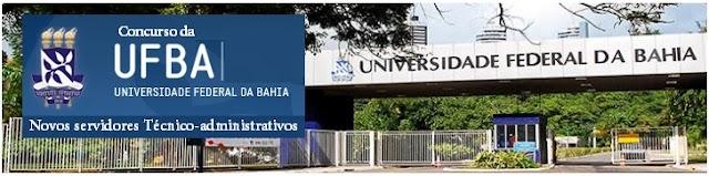 Concurso da UFBA 2017: Instituto AOCP será a organizadora
