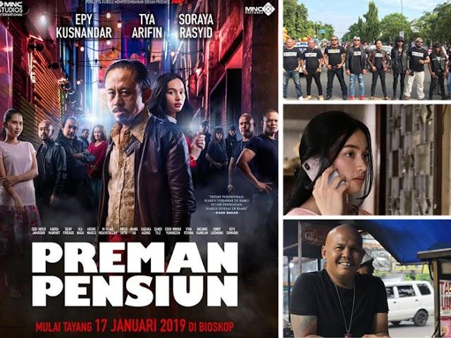 Film Preman Pensiun Tayang di Bioskop Mulai 17 Januari 2019