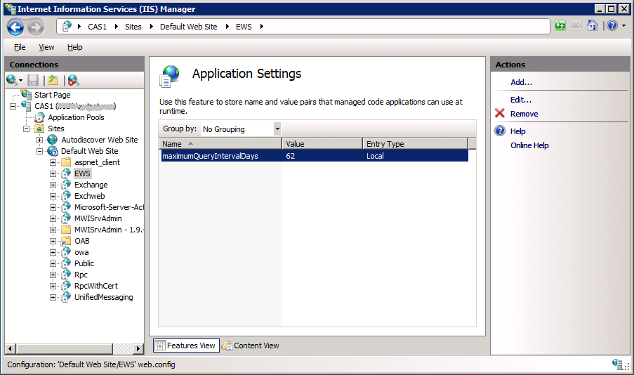 Fix for MSExchange Availability Event ID 4002 Errors | The EXPTA {blog}