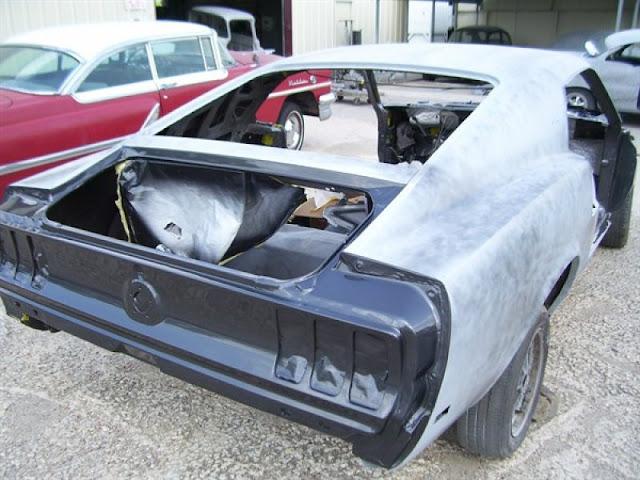 Hurda Mustang'in Muhteşem Değişimi