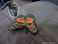 The Gaslight House Valentino inspired butterfly embroidered coat