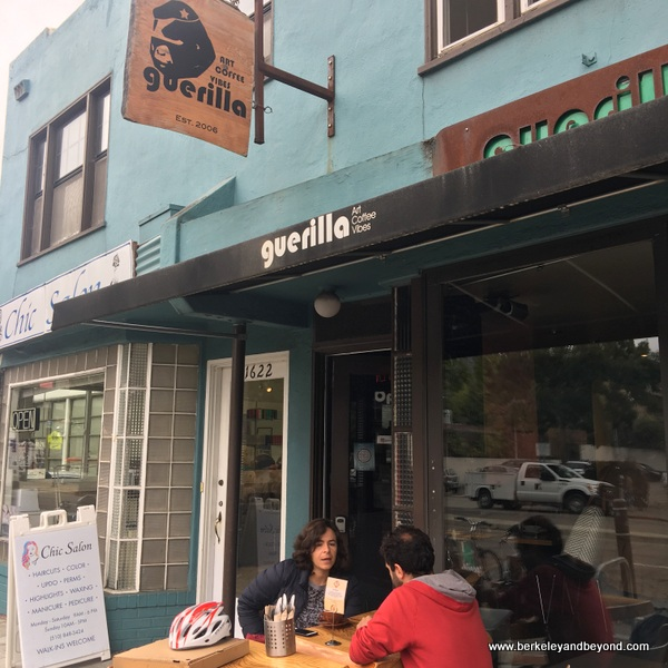 exterior of Guerilla Cafe in Berkeley, California