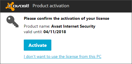 avast internet security 2015 license key