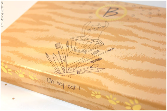 Beautiful Box by Aufeminin.com Oh my cat ! Blog beauté Les Mousquetettes©