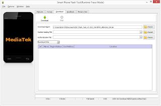SP flashtool for mediatek devices
