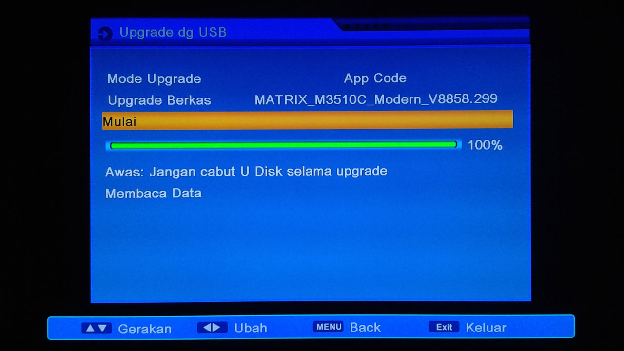 Cara Upgrade Matrix Burger S1 Mini HD PVR