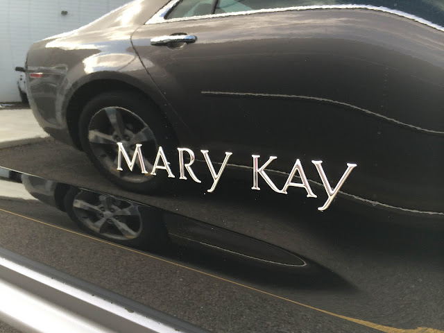 The Mary Kay Logo in on Every Earned GM Vehicle