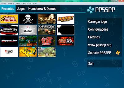Emulador de PSP - PPSSPP Capa