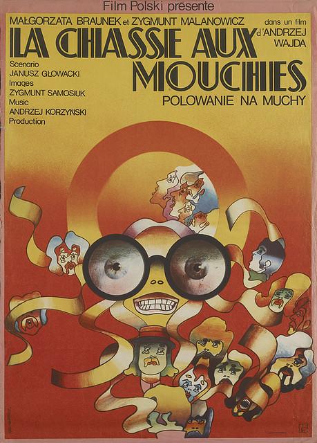 1960s Polish Film Poster Art  vintage everyday