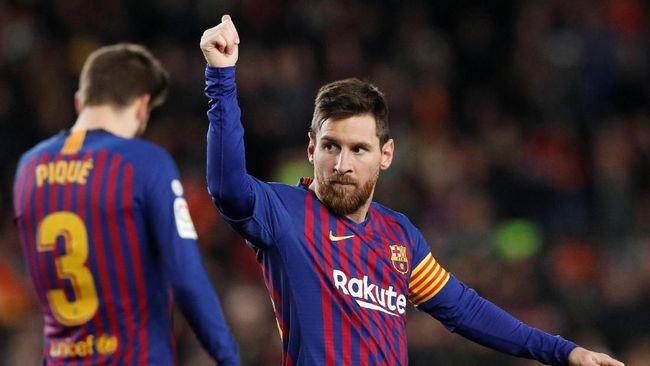 Barcelona Kalahkan Eibar Dan Messi Mencetak Gol ke 400 Di Liga Spanyol 2019