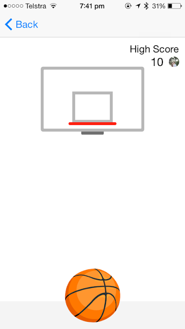 Secret Facebook Messenger Basketball Game