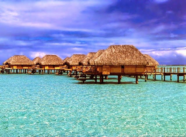 Bora Bora. - Summer Is For Relaxing.... These 10 Beaches Will Cut Off Your Breath!
