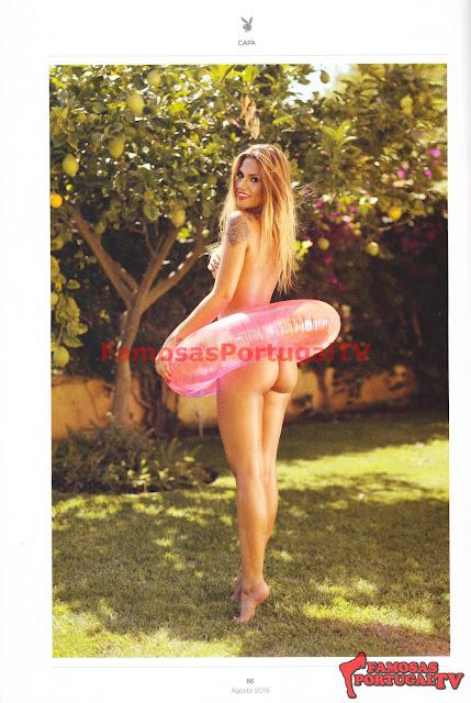 Fotos de Liliana Filipa nua pelada na Playboy Portugal