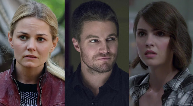 once upon a time, arrow e teen wolf