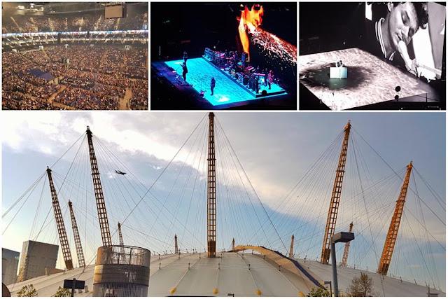 Concierto de John Mayer en el O2 Arena de Londres