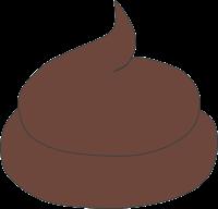 Brauner Kot