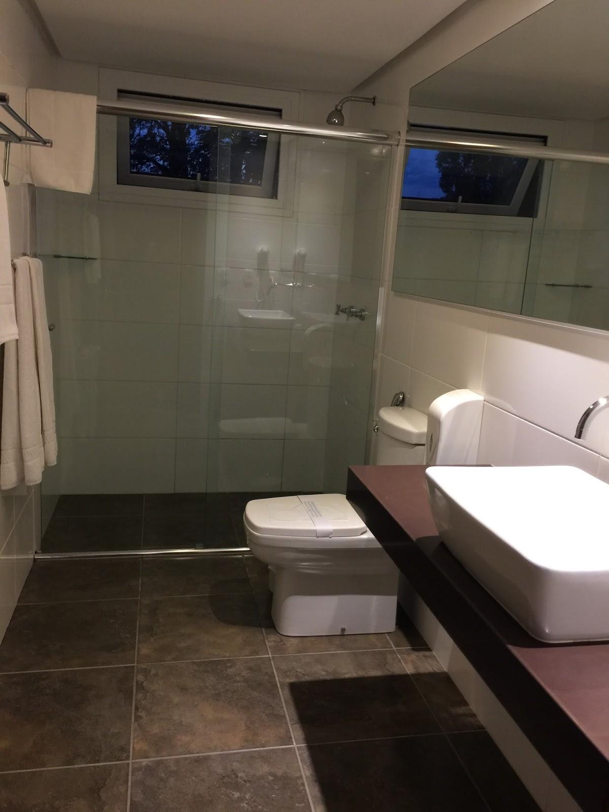 Banheiro do apartamento Grande Hotel Canela