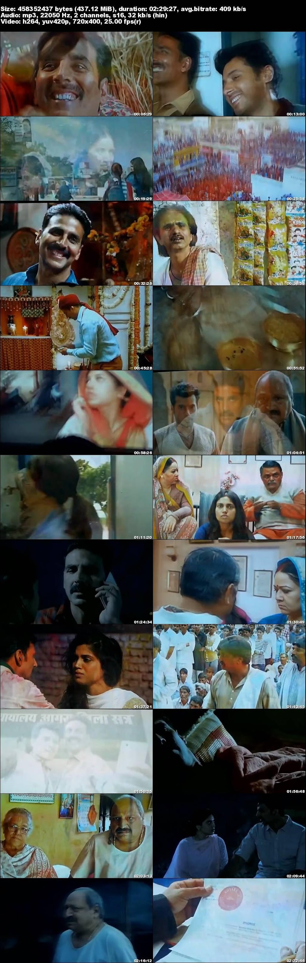 Screen Shot Of Toilet Ek Prem Katha 2017 300MB Pdvd Full Hindi Movie Watch Online Free Download