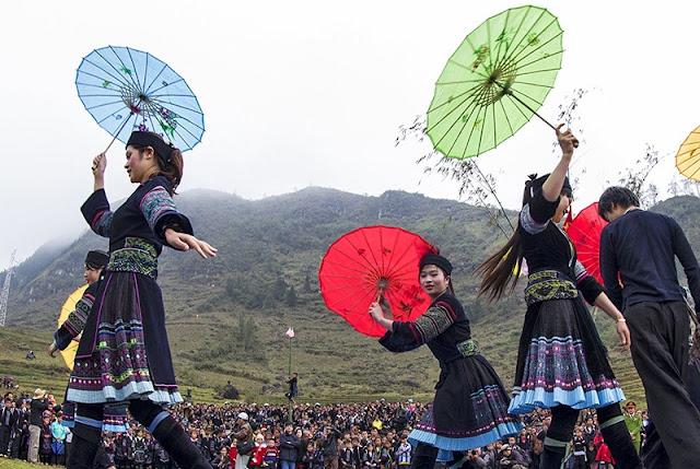 Ha Giang opens Khau Vai Love Market Festival 2017 2