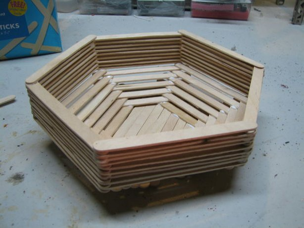 popsicle basket, box, diy home decor, diy projects, do it yourself projects, diy, diy crafts, diy craft ideas, diy home, diy decor