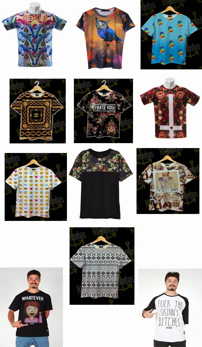 26d25d800 Vou colocar o link das lojas que encontrei as camisetas caso algum de vocês  queiram conhecer também. (Lembrando que não ganho nada de loja alguma para  fazer ...