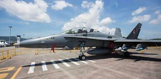 F/A-18D Hornet TUDM Malaysia