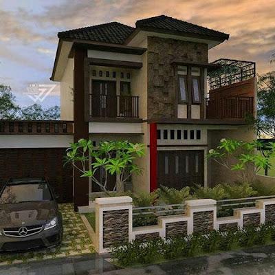 Contoh Desain Rumah Dengan Gaya Classic Yang Indah