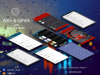 WhatsApp Mod GBWhatsApp v6.30 Based 2.18.46 Apk (Bisa Ganti Tema) + GBWhatsApp2