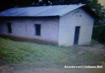 Iglesia evangélica Paseo Paraíso en la comunidad de La Comba