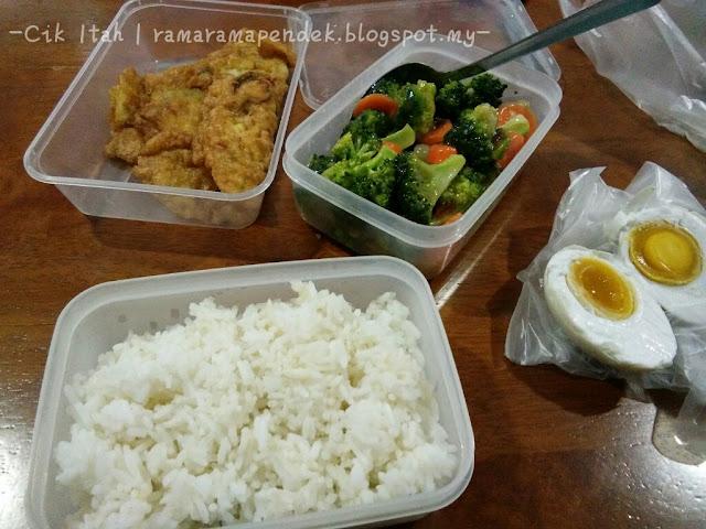 Menu Ringkas Untuk Bekalan Makanan Tengah Hari