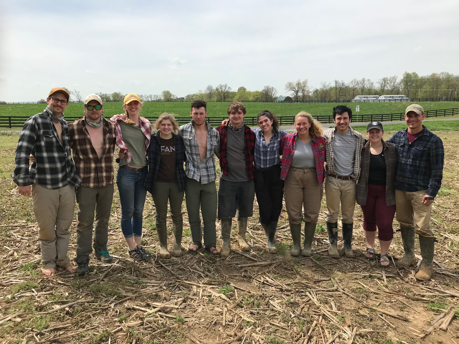 2019 University of Minnesota NACTA Soil Judging Team