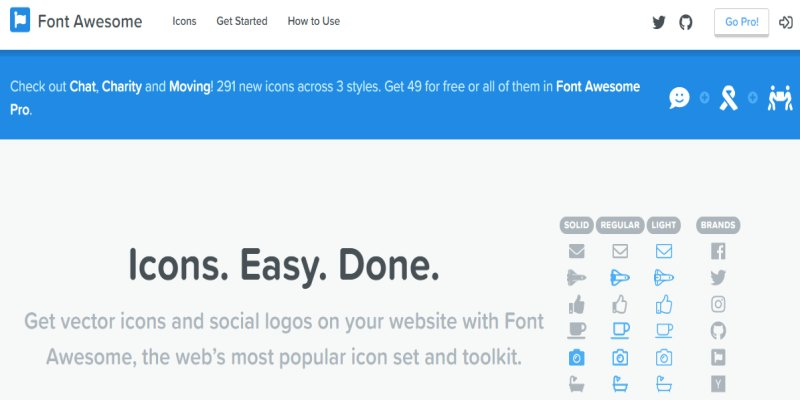 Font Awesome 5 正式支援 Line 圖示﹍CDN 安裝 + 版本向下相容心得