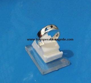 cincin kawin perak couple simpel