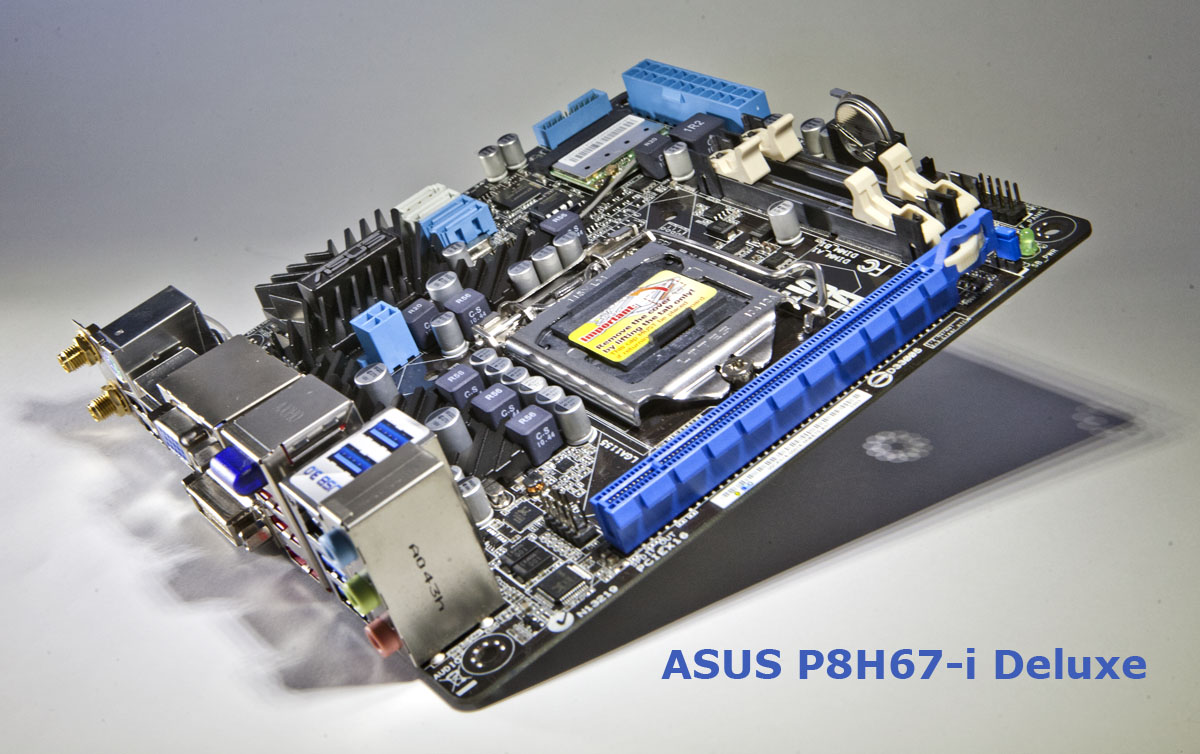 Stereowise Plus: ASUS P8H67-i Deluxe mini-ITX Motherboard ... on